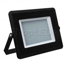 Прожектор светодиодный тонкий, 70Вт Белый