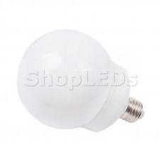 Лампа шар e27 12 LED ∅100мм белая