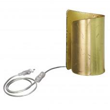 811912 (MT6000-1GL) Настольная лампа PITTORE 1х40W E27 GOLDEN (в комплекте)