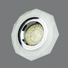8220 WH-SV Точечный светильник White-Silver