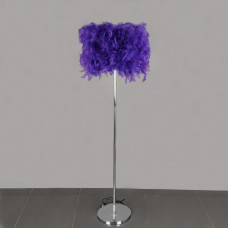 001-PP Торшер фиолетовый Е27 32*23
